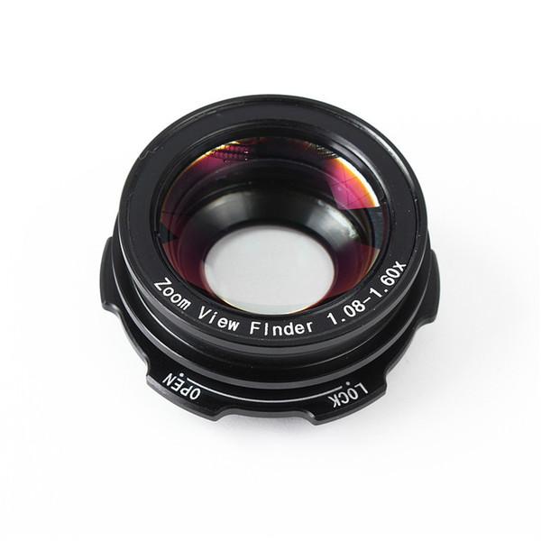 best selling Freeship 1.08x-1.60x Zoom Viewfinder Eyepiece Magnifier For Canon D30 40D 60D 300D 350D 400D 450D For Nikon D7100 D7000 D5300 D5100 D3300