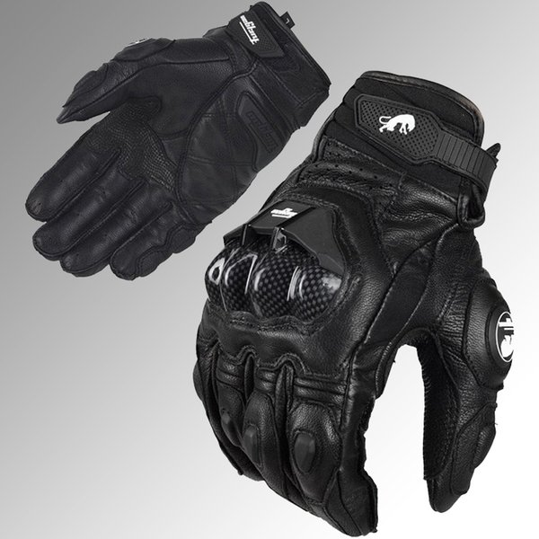 Wholesale-free shipping Professional  Furygan AFS 6 motorcycle racing gloves carbon fiber leather guantes motorcycle