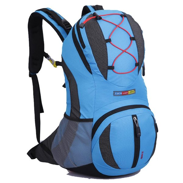 Waterproof Outdoor Sport Breathable Backpack Shoulder Bag for Biking Cycling Riding Bicycle Traveling Camping Hiking 22L 47