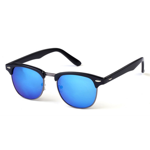 31bde43ec Metade do Metal de Alta Qualidade Óculos De Sol Dos Homens Das Mulheres  Designer de Marca