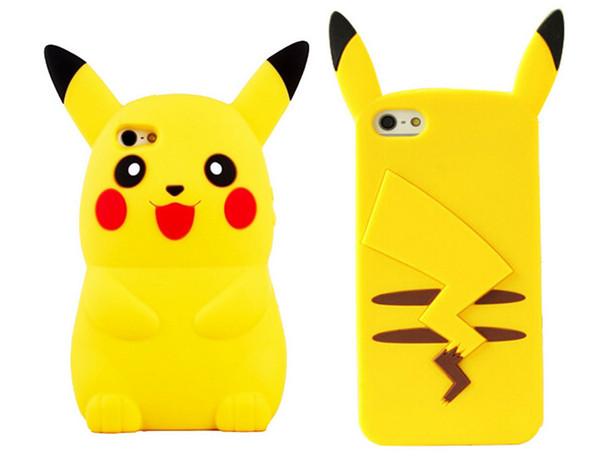 Pour iPhone 7 Cute Cartoon 3D Case Silicone Souris Souple En Silicone Coque De Protection Arrière pour iPhone 7 5S 6 6s 6plus Plus