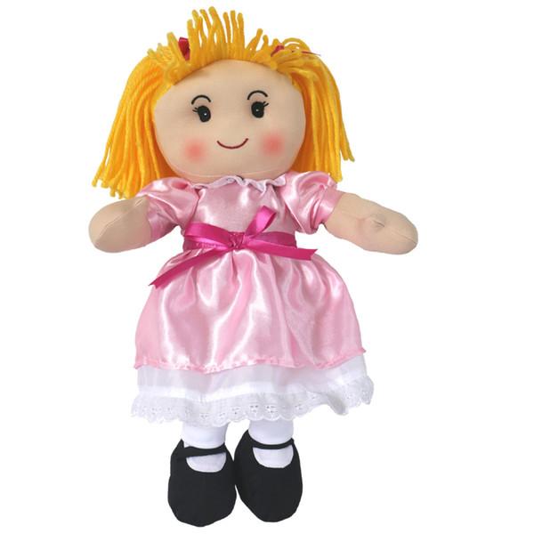 Großhandel 16 Zoll Amerikanerin Puppe Mädchen Geburtstag Geschenk Valentinstag Geschenk Niedlichen Plüschpuppe Von Huangshuo123 905 Auf
