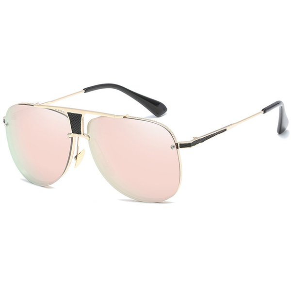 C5 Gold Frame Pink Mirror