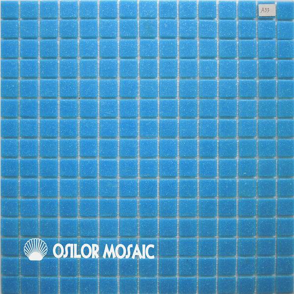 Acheter Carreau De Mosaïque En Verre Bleu Pour Salle De Bain Et Cuisine  Carrelage Mural De La Piscine 20x20mm 4 Mètres Carrés Par De $361.81 Du ...