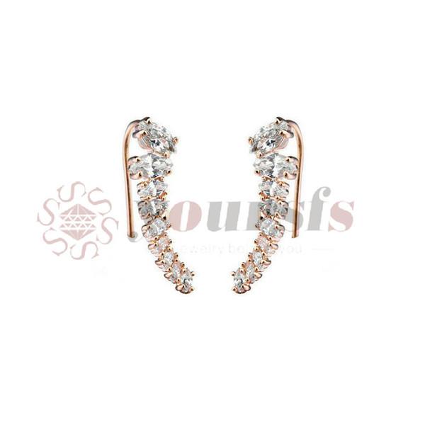 Yoursfs Earring Clasps Jewelry Findings Copper Ear Wire Hooks For Making Jewelry Drop Earrings