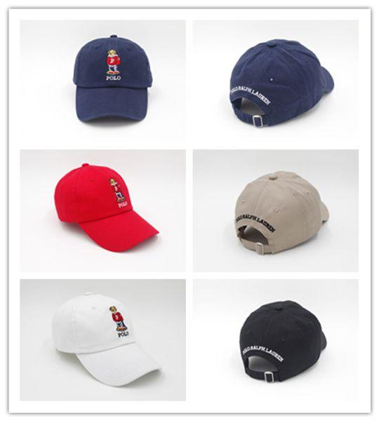 ea518e3288b11 Good Selling Cheap wholesale Upsoar hat Red Hat Authentic polos bear Dad  Baseball Cap Kanye West TLOP drake cap casquette