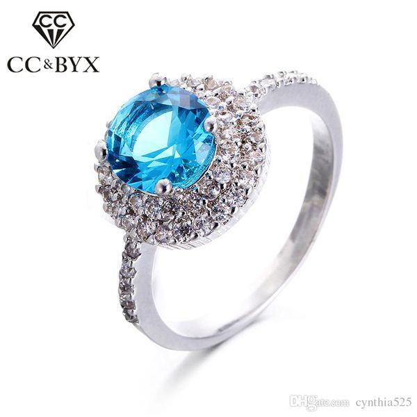 pierre bleu bague or