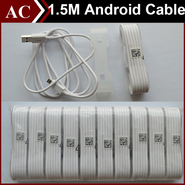 5ft 1 5m micro u b data cable v8 charging tran fer power charger charge line cord for android phone am ung 6 7 edge htc lg high peed dhl
