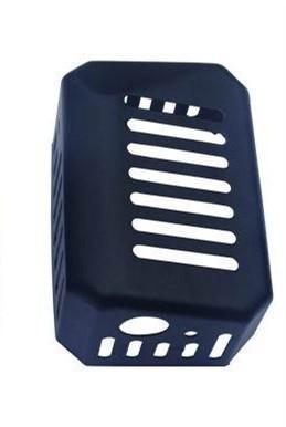 Muffler Exhaust cover for Robin NB411 BG411 CG411 Chinese 1E40F-6 40F-6 40-6 Engine Brush cutter trimmer