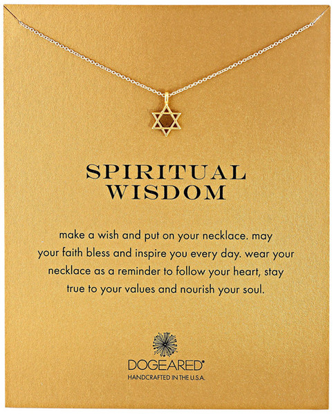 Hollow Star Dogeared Necklace (Spiritual wisdom ), Noble and Delicate Jewelry,Six-Pointed Star Choker Necklaces Classical Birthday Present