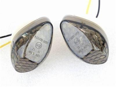 top popular Smoke Lens 15 Amber LED Turn Signal Light Blinker Indicators For Honda CBR 600RR 1000RR 2004-2008   CB 919F 2000-2008 2021
