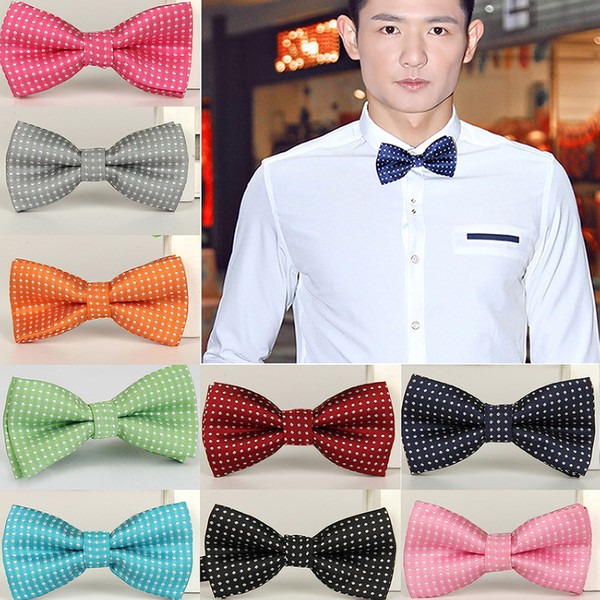 top popular Bow Tie Classic Fashion Novelty Mens Adjustable Tuxedo Bowtie Wedding Necktie 2020