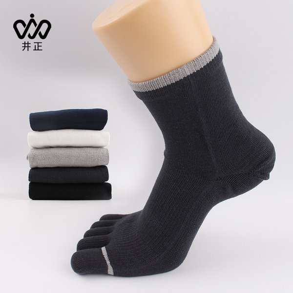 2016 Hot foreign trade cotton men's cotton 5 Toes socks five toe socks socks pure leisure socks factory wholesale