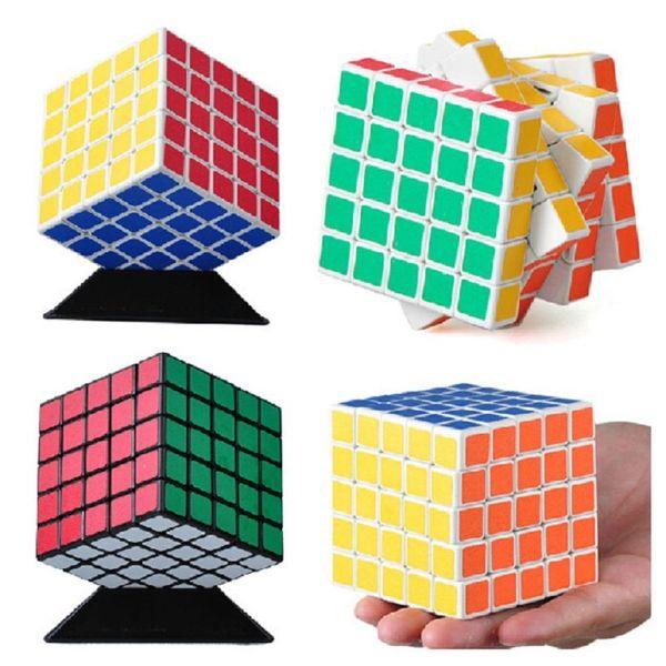 Nuovo Shengshou 5x5x5 64mm Magic Cube Velocità Puzzle Per Bambini Educativi Twisty Magico Cubo Snake Stickerless Giocattoli Spedizione Gratuita