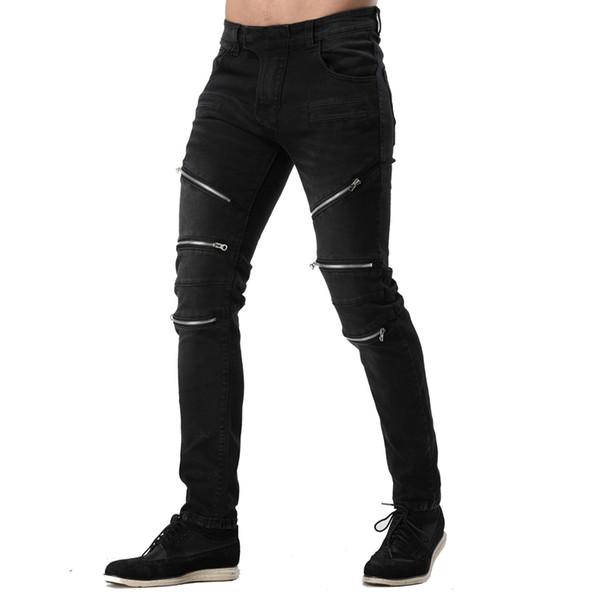 Black Zipper Style