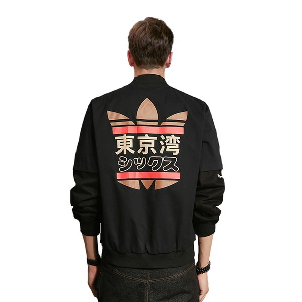 Men's Jackets Spring Autumn Japanese MA1 Male Bomber jacket Coat American College Students Outwear for Men/Woman Baseball loose Outerwear