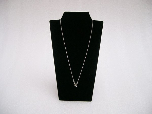 """Necklace Display Board Jewelry Display Props Pendant Stand Holder Easel in black velvet 8 1/2"""" Showcase"""