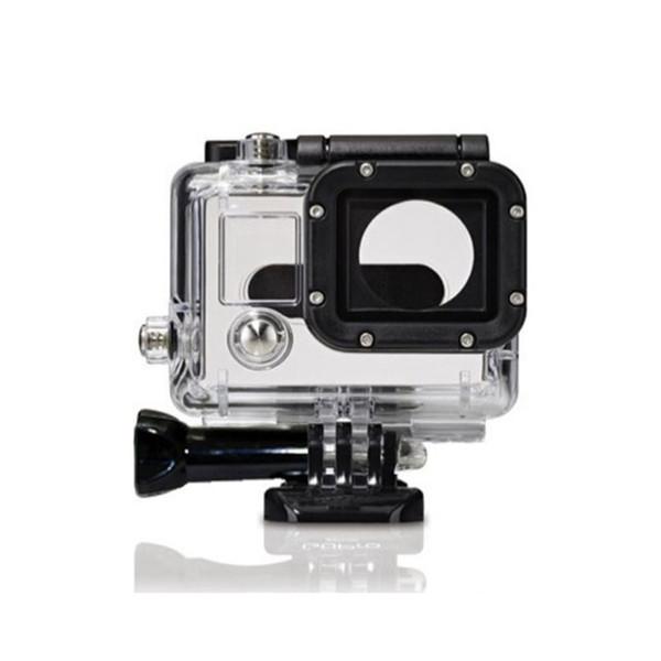 Custodia impermeabile Custodia protettiva GP28 30-45m subacquea impermeabile subacquea per GoPro Hero 3 Gopro Accessori Sport fotocamera