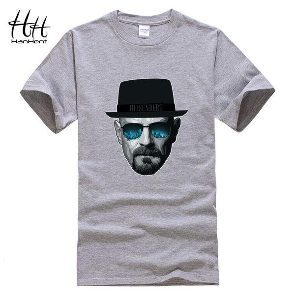0d2eada58 Wholesale-HanHent Heisenberg T shirt Men Casual Funny Fitness Walter White  Tshirt Swag Cotton Short Sleeve Summer Breaking Bad T-shirt