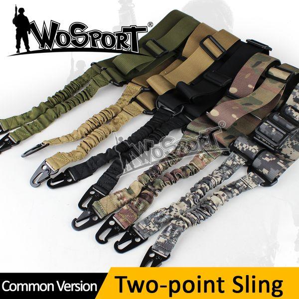 Tático Ajustável Equipamentos de Estilingue de Dois Estágios Airsoft Hunting Gun Rifle Pistola Correia Ao Ar Livre Bungee System Kit