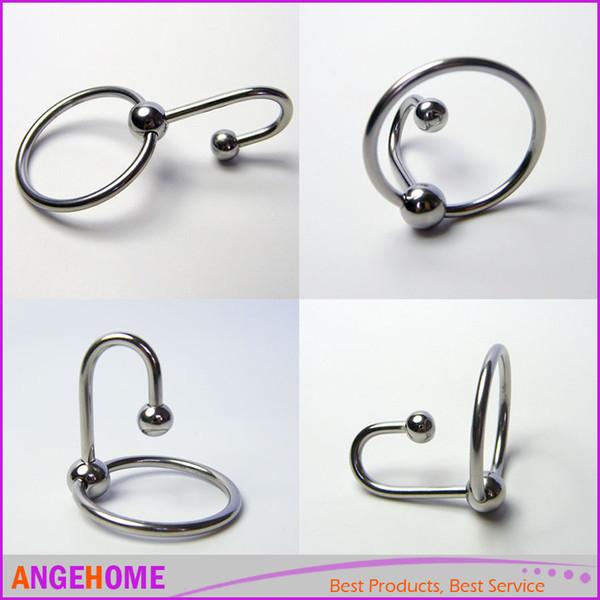anneau de pénis en acier inoxydable, anneau de pénis, dispositif de chasteté masculine, gaine de pénis, cage à pénis