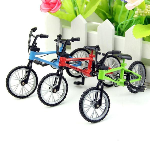 20PCS Multicolor Mini Bicycle Bike Mountain Bike Model High Quality Decorations Toys Boy