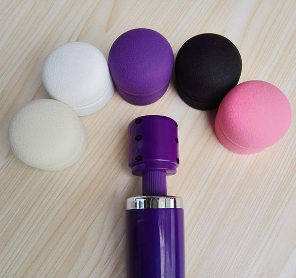 Acessório principal da tampa do tampão para o vibrador mágico da substituição do silicone do Massager da varinha
