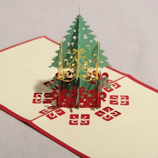 3d pop up holiday greeting card christmas tree easter day thank you 3d pop up holiday greeting card christmas tree easter day thank you 1515cm free m4hsunfo
