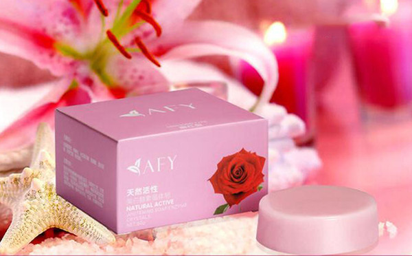 top popular Hot AFY Natural Flower Soap Crystal Soap Enzyme Body Private Parts Clean Labia Perineum Dilute Areola Natural Handmade Soap 2021