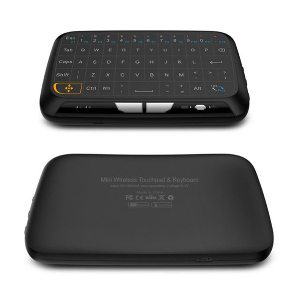 Newest H18 Mini 2.4G Wireless Keyboard With Touchpad Fly air Mouse For PC Smart TV Box Linux MAG 250 Set-top Boxes