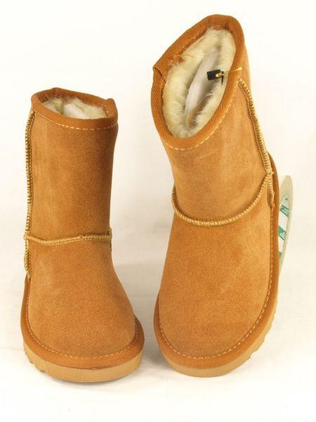 New fashion u g g boot Winter waterproof childrens snow boots warm Christmas girls boys kids boots Australian snow boots 5281 Shoes