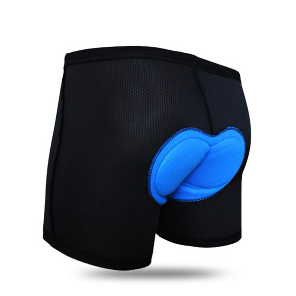WOSAWE Men Women Bicycle Cycling 3D Gel Silicon Padded Shorts Underwear MTB Road Bike Underwear