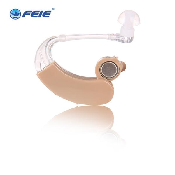 FEIE hearing aids for the deaf Small Analog BTE Voice Amplifier Hearing Aid S-9c Drop Shipping