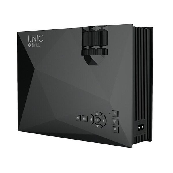 New 1200 Lumens UNIC UC46+ UC46 Portable HD LED Mini Pocket WIFI Wireless Miracast Airplay Dlna Mobile Handheld Home Projector Beamer