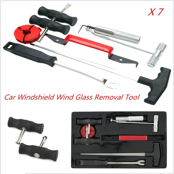 """Window Wind Glass Remover Tools Kit for cars 1//4/"""" x 6/"""" Long Shank Tapered Cone"""