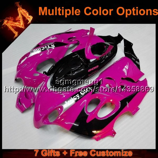 23colors + 8Gifts lila schwarz Motorrad Abdeckung für Suzuki GSX600 F Katana 2003-2006 GSX600F 03 04 05 06 Karosserie-Set ABS-Kunststoff-Verkleidung