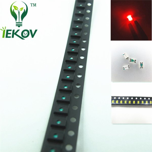 1000pcs/bag 0603 High Quality SMD Red led Super Bright SMT LEDS Light Diode 1.8-2.1V 620-630nm Toys DIY