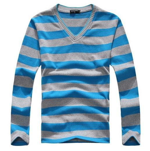 Großhandels-Marken-Kleidungs-Mann-Pullover-Pullover-Mann-lange Hülsen-Strickpullis für Männer wärmen Baumwollhemd-Mann stricken