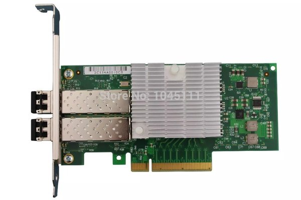 Winyao E10G82599SF SFP+ 10G Dual Port Fiber Sever Network Card Adapter Intel JL82599ES Chipset VLAN E10G42BFSR