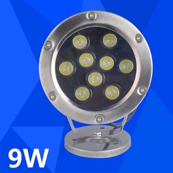 2019 9W 12V LED Underwater Fish Light RGB LED Garden Lamp Swimming Pool  Lights LED Landscape Lamp SpotLights From Greenough, $148.41   DHgate.Com