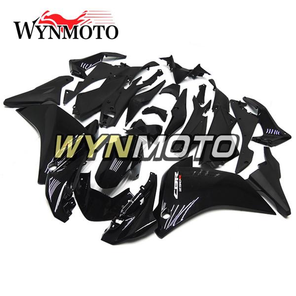 Carénages de moto ABS Plastics ABS pour Honda CBR250RR 2011 2012 2013 2014 Année 11 12 13 14 Kit de carénage complet Bodywork Gloss Black