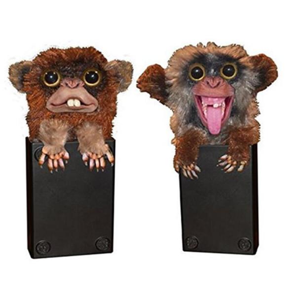 Funny Monkey Sneekums juguetes Pet Prankster Tricky Toy Monkey regalo de Navidad Suministros de Halloween Envío gratis
