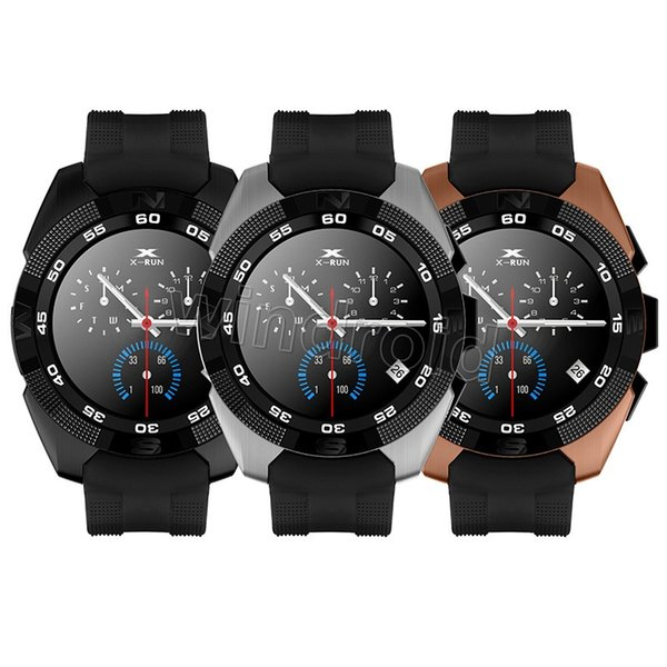 Bluetooth smart watches G5 NB-1 Wrist SmartWatch MT2502C ultra slim IPS screen step heart rate sleep monitor for IOS Android Free DHL 10pcs