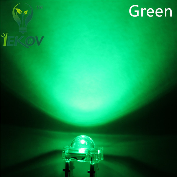 5000pcs 5MM Piranha Green Super Flux Leds 4pin Wide Angle Super Bright light Emitting Diodes Lamp For Car Light High Quality Hot Sale