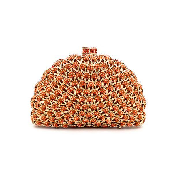 Ladies Handbag Beads Diamond Hallow Out Beaded Evening Bag Hand Bag Party Bride Cheongsam Ajustable Party BD075