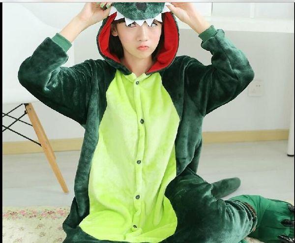 c44fb524bc New Hot Sale Lovely Cheap Kigurumi Pajamas Anime Cosplay Costume Unisex  Adult Onesie Green Dinosaur Dress