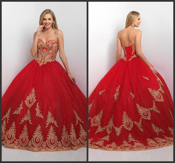 2016 Tulle Blush Quinceanera Dresses Valentine Ball Gown Prom Sweet ...