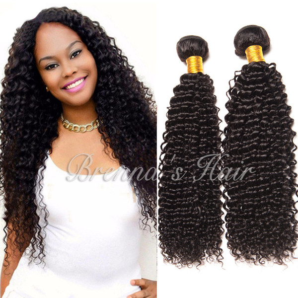 New Hair Styles Deep Curly Hair Bundles Long Hair Tangle Free Jerry Curly Weaving Wefts Bulk For Black Women Human Hair Weft Extensions Cheap Cheap