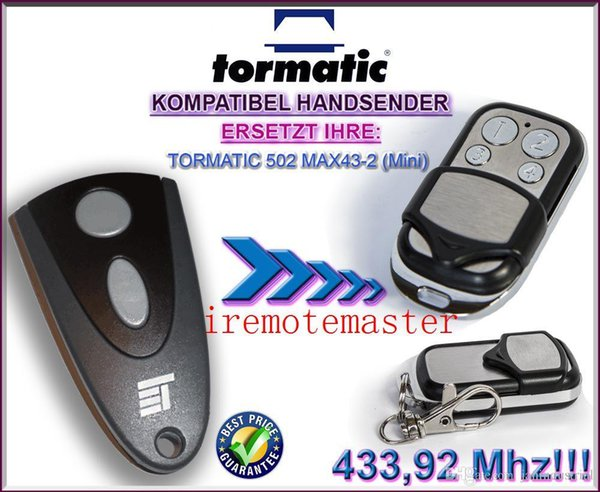 Compatible Superlift Avanti Garage Door Remote Transmitter Mini  x1