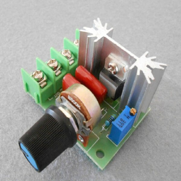HOT Free Shipping AC 220V 2000W SCR Voltage Regulator Dimming Dimmers Speed Controller Thermostat in Selling